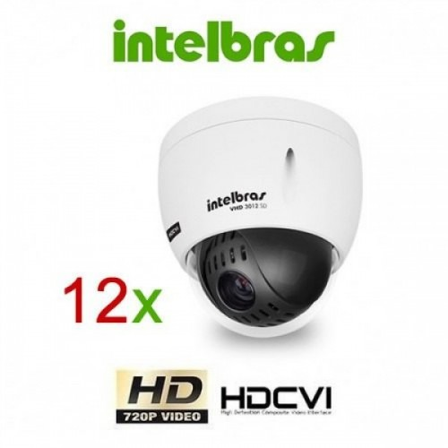 Mini Speed Dome VHD 3012 intelbras